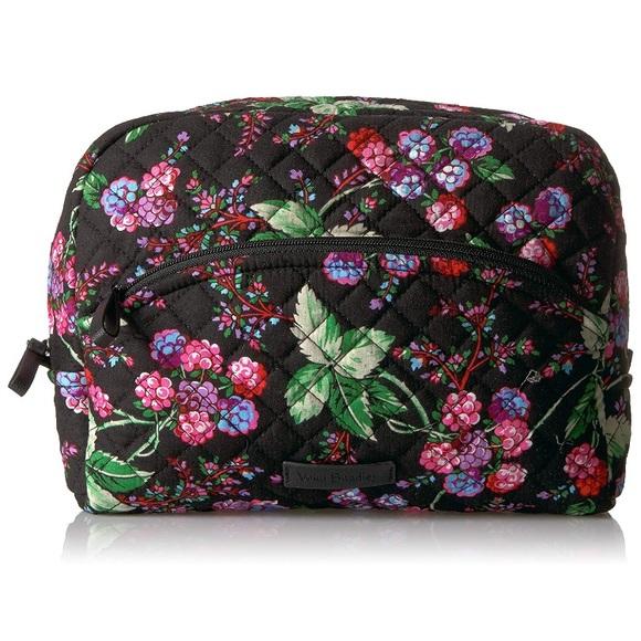 2fda2b658737 Vera Bradley iconic large cosmetic bag